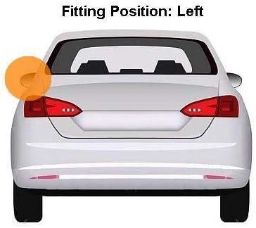 primed Aftermarket 6341426-7599 Left Passenger Side Mirror Cover