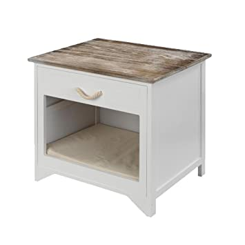 D&D Corazón Brisbane perro muebles, 55 x 45 x 55 cm, color marrón y ...