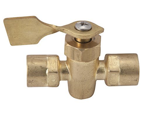 Sierra International 18-1653 2-Way, 1/4'' FNPT Female/Female Shut Off Valve by Sierra International