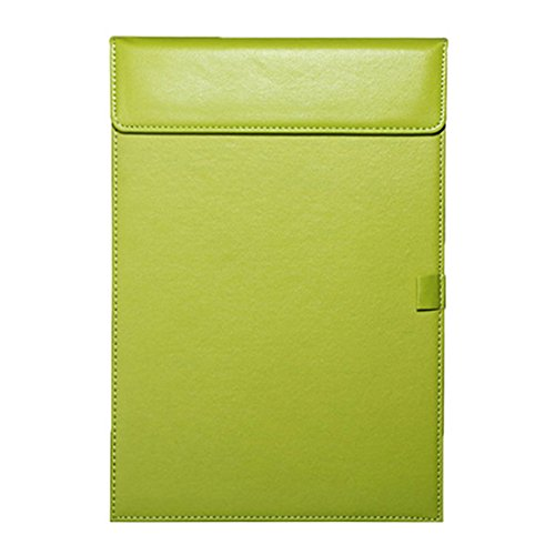 Padfolio Green (Leather Folder, Zubita Professional Document Holder Notepads and Writing Pads Padfolio Folder for Resumes Interviews and Meetings ( Green ))