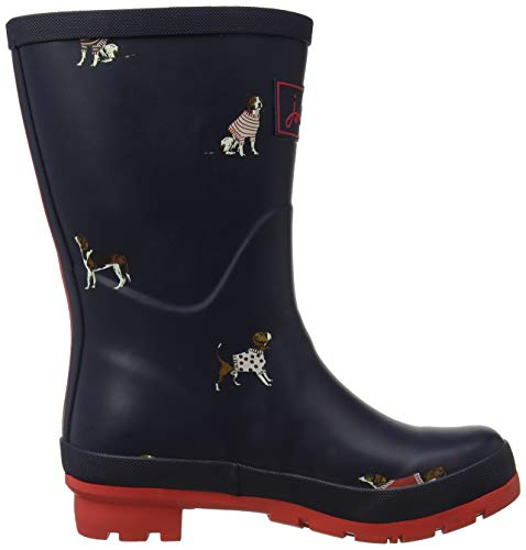 Joule Dog Navjdog Mujer Botas Agua De navy Tom Welly Jumper Para Molly Blau RBRZP
