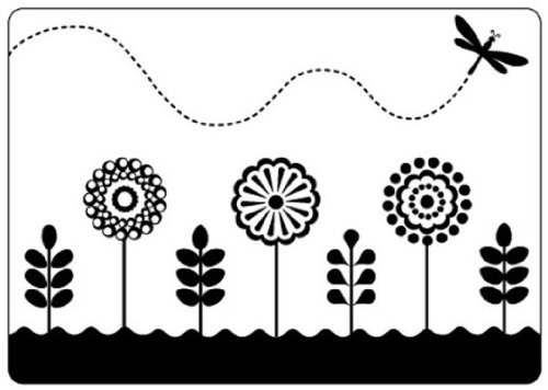Unbekannt Crafts-Too Crafts-Too Crafts-Too Crafts-Too Prägeschablone, Spring Garden B00FPRJSEM   eine große Vielfalt  9d62d7