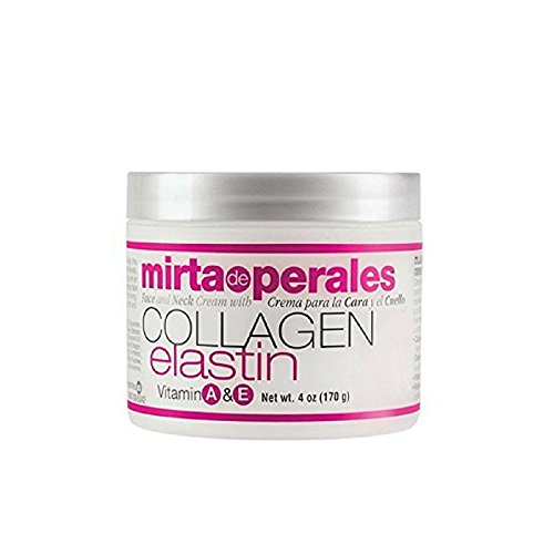 Mirta De Perales Collagen Elastin Cream, 4 Ounce