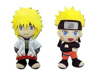 Set Of 2 Great Eastern Naruto Shippuden Plush Doll