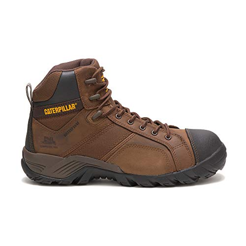 - Caterpillar Men's Argon HI Waterproof Comp Toe Hiking Boot,Dark Brown,12 M US