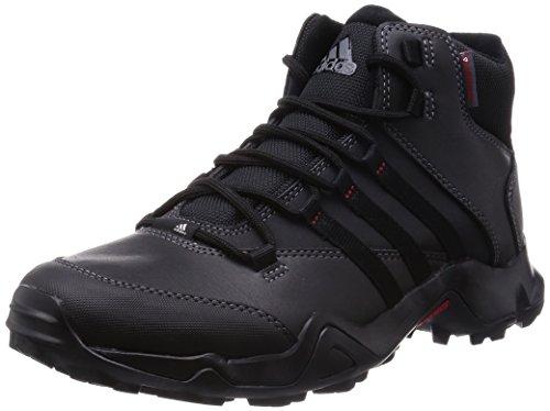 adidas Uomo Scarpe Indoor Multisport Multicolore (Negro / Gris / Rojo)