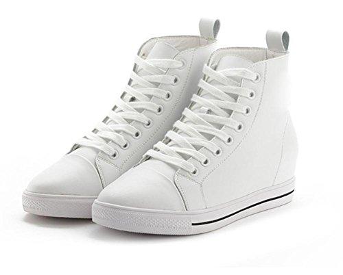 dessus EU38 plates chaussures 5 chaussures femmes US7 5 haut CN38 chaussures UK5 dascenseur Mme en de Spring dentelle sport chaussures q0aAxRz