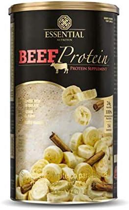 Beef Protein (480g) Essential Nutrition -Banana com Canela por Essential Nutrition