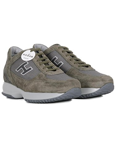 HXM00N0Q102H5I0PCM Wildleder Herren Sneakers Grün Hogan 50OYqw5a