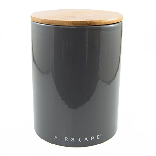 Large Bamboo Canister - Airscape Ceramic and Food Storage Canister, 7