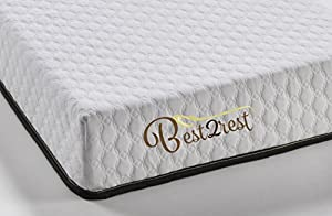 BEST 2 REST Memory Foam Mattress cool gel infused medium firm- Made in USA