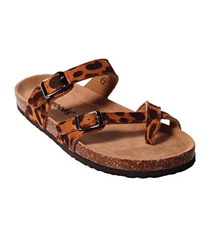 06d00313b7d Outwoods Women s Bork 30 Sandal Cheetah Combo ...