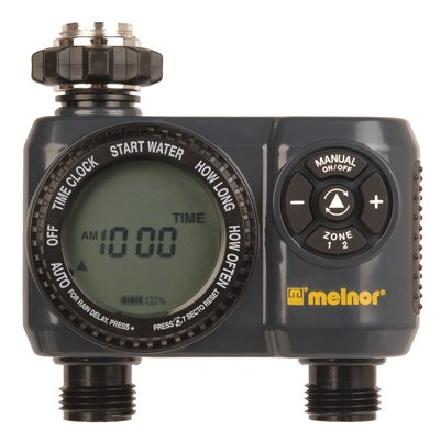 Melnor 33100 2-Zone Water Timer - Quantity 4