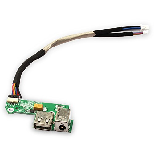 New DC Power Jack Board with USB Port Cable for Hp Pavilion Dv6000 ()