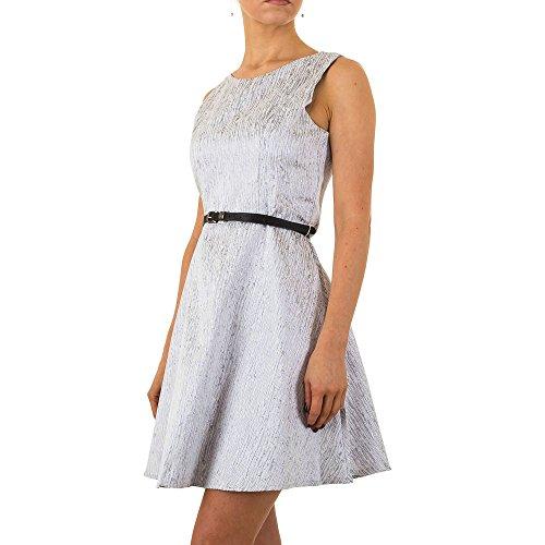 Glänzendes Cocktail Kleid Für Damen bei ItalDesign Grau fRSVi ...