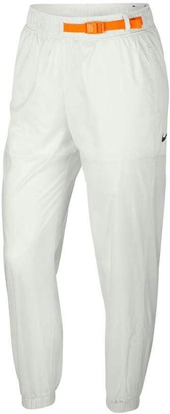 NIKE Pantalones de chándal de Mujer Sportswear en Tela Blanca AV4268-121: Amazon.es: Ropa y accesorios