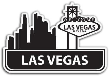 SELECT SIZE Las Vegas Visit Suitcase Vinyl Sticker