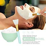 Face Mask Mixing Bowl Set, Plazuria 5 in 1 DIY