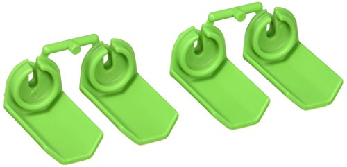 RPM Shock Shaft Guards for Traxxas and Durango 1/10 Scale Shocks, Green