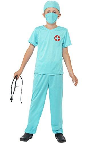 Child Surgeon Costumes (Large Blue Children's Surgeon Costume)