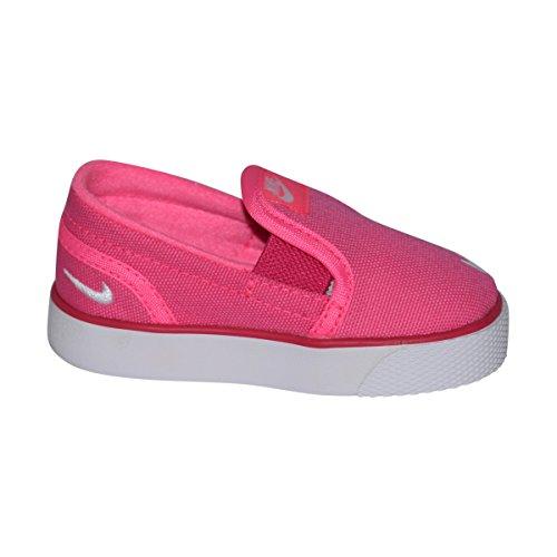 white on Da Toddler Ginnastica Nike Nero bianco Scarpe Tela Slip Black Toki p17P6qa
