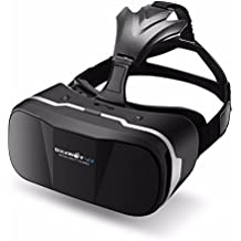 BlitzWolf vr Headset 3d Viewer Glasses Virtual Reality Google Cardboard Upgraded Version Movies Games Helmet for up to 4.7-6 inch Phone Samsung LG Sony Moto Nexus