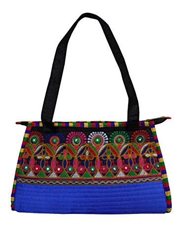 Hari Deals - Tote Bag For Green Woman Green - Blue