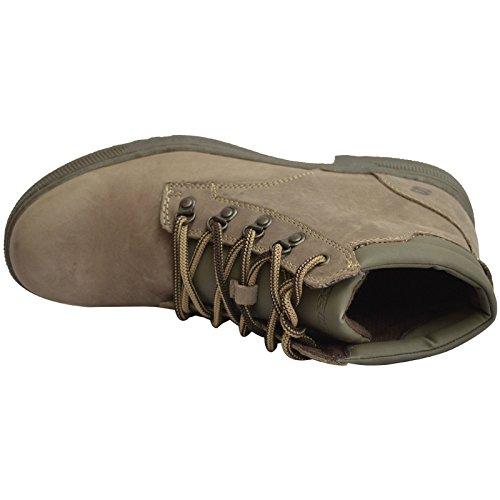 Skechers Hombre Romolo Cuero Botas De Montaña - Marrón, Hombre, UK 10 / EU 45 / USA 11