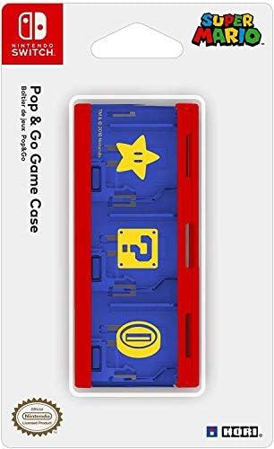 HORI - Estuche de juegos Pop & Go Mario (Nintendo Switch): Amazon.es: Videojuegos