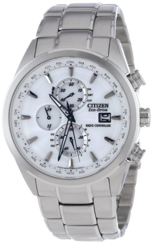 Citizen Men's AT8010-58B Eco-Drive World Chronograph A-T Watch