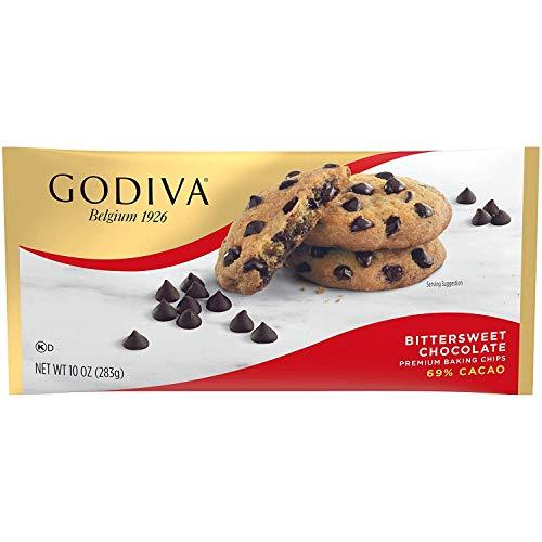 Godiva Bittersweet Chocolate Premium Baking Chips, 11 oz