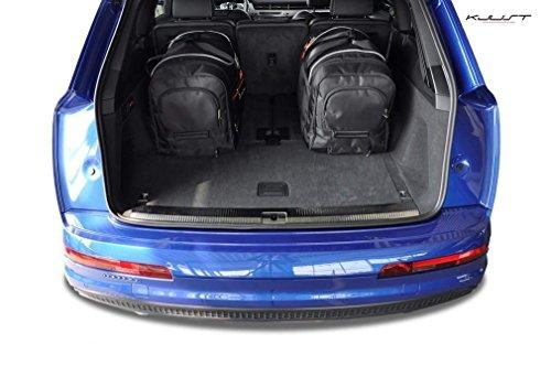 AUTO-TASCHEN MASSTASCHEN ROLLENTASCHEN AUDI Q7, II, 2015- CAR BAGS - KJUST