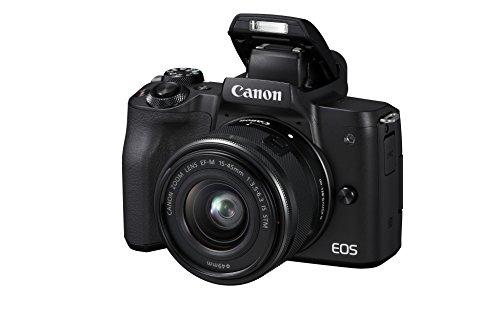 Canon EOS M50 met EF-M 15-45 mm IS STM