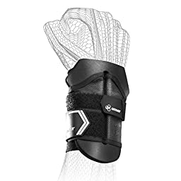 DonJoy Performance Anaform Wrist Wrap Support Brace: Black, Large/X-Large