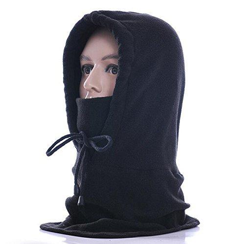 Uigos Tactical Heavyweight Balaclava Outdoor Sports Mask (Plain Black Shoes Jordan)