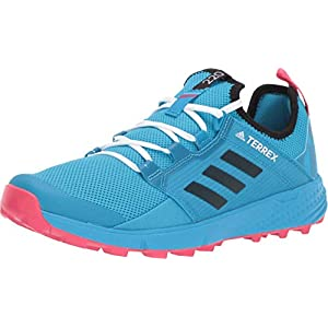 adidas outdoor Women's Terrex Speed LD Shock Cyan/Black/Active Pink 8.5 B US