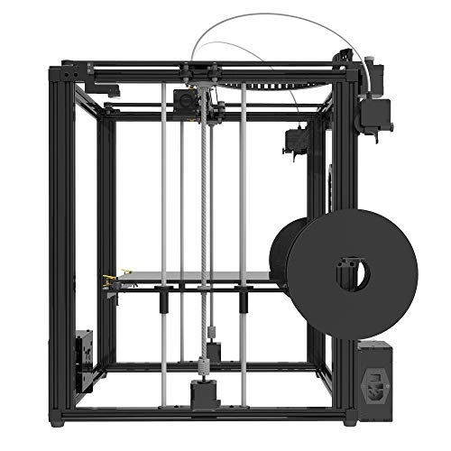 TRONXY X5ST-2E 3D Printer 2 in 1 Out Extrusion DIY Kit,Filament Sensor  Resume Print Cube Full Metal Square with 3 5 inch Touch Screen Large  Printing