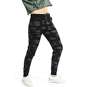 ZEYO Women's Cotton Printed Track Pant