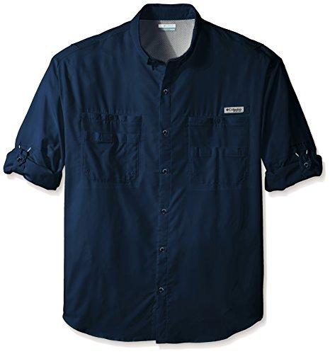 Price comparison product image Columbia Sportswear Men's Tamiami II Long Sleeve Shirt,  Collegiate Navy,  1X