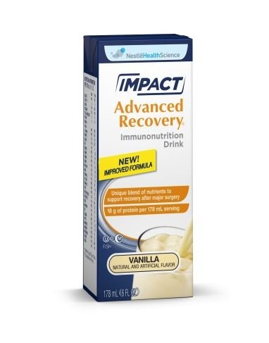 Impact Advanced Recovery Vanilla Nutrition Drink, 6oz, 15 Per (Impact Recovery)