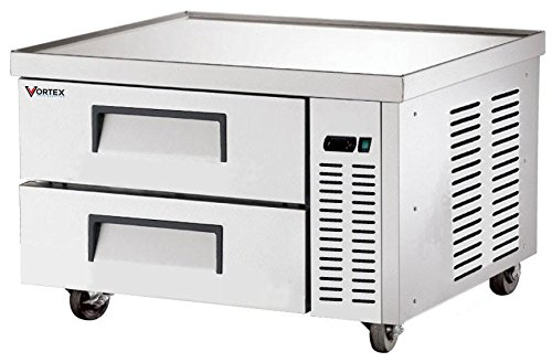 Vortex 36'' 2 Drawer Refrigerated Chef Base V-36CB-2 by Vortex_Refrigeration