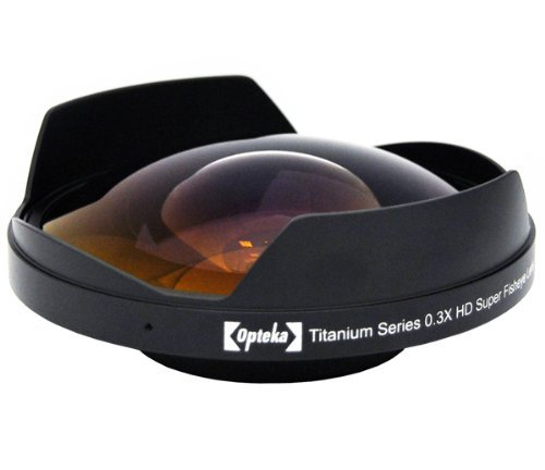 Opteka OPT-SC58FE Titanium Series 58mm 0.3X HD Super Fisheye
