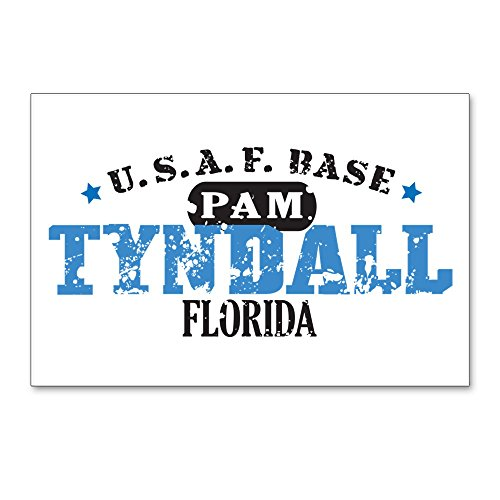 """CafePress Tyndall Air Force Base Postcards (Package of 8), 6""""x4"""" Glossy Print Note Card"""