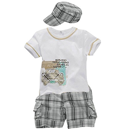 Shorts T-shirt Outfit - 1