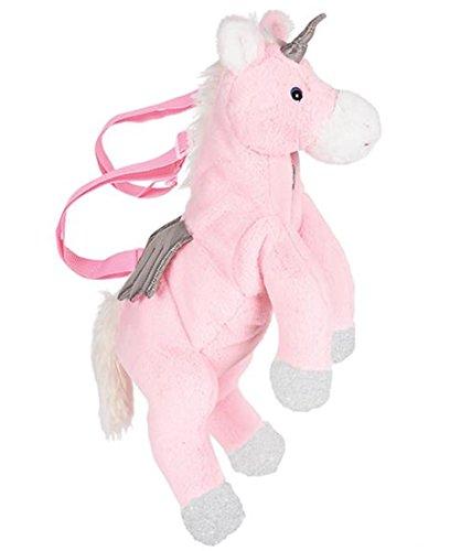 UNICORN PLUSH Pink BACKPACK ()
