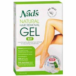 Nads Hair Removal Gel Kit 6 Ounce Gel (177ml) (Pack of 2)