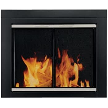 Amazon Com Heatilator Fireplace Doors Stainless Steel