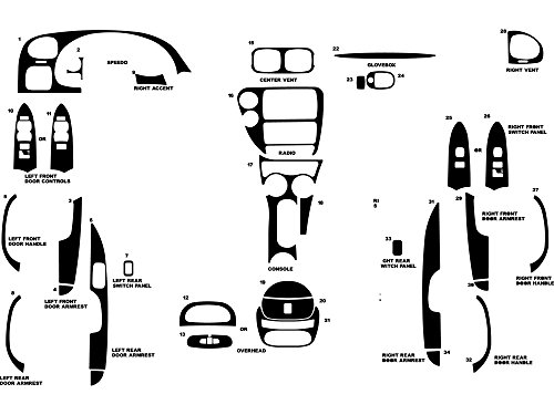 dash kit trim trailblazer - 1