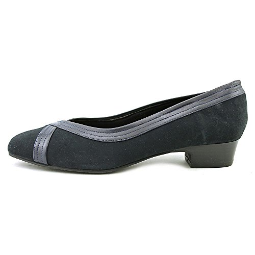 Mark Lemp Klassikere Tracy Womens Pumpe Navy-suede ...