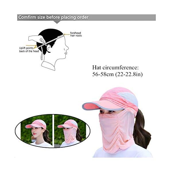 qishengshengwukeji Cappello da Sole Cappello Pescatore Mens Cappelli di Sun UV di Protezione Unisex del Cappello del… 2 spesavip